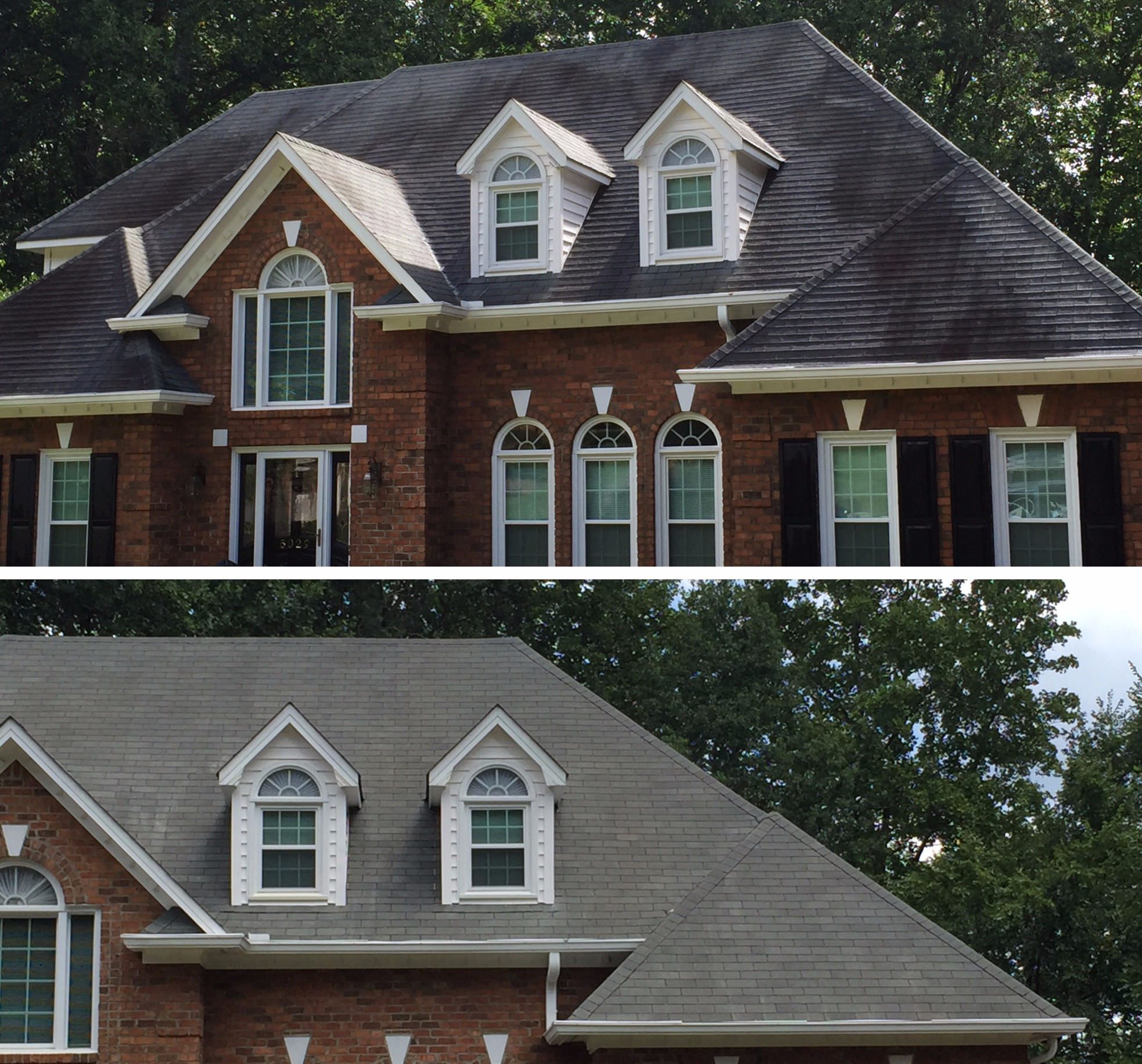 residential roof pressure washing in winston salem, nc